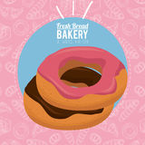 Always fresh bakery products Royalty Free Stock Photography
