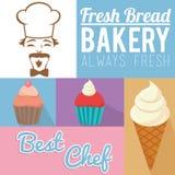 Always fresh bakery products Stock Photos