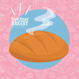 Always fresh bakery products Stock Photography