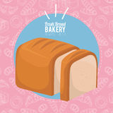 Always fresh bakery products Royalty Free Stock Images