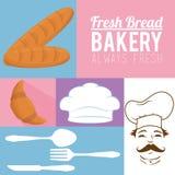 Always fresh bakery products Stock Photo