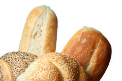 Fresh bakery rolls Royalty Free Stock Photo