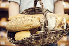 Fresh bakes bread Royalty Free Stock Image