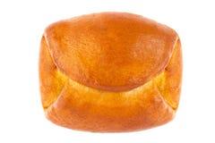 Fresh baking bun with jam. Royalty Free Stock Photo