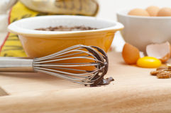 Fresh Baking Ingredients Stock Photography