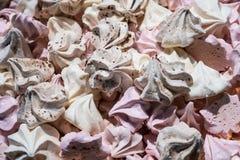 Fresh baking meringue Stock Photography
