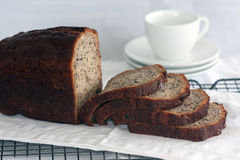 Fresh banana bread Royalty Free Stock Photo
