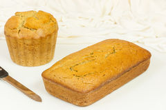 Fresh Banana Breads Royalty Free Stock Photography
