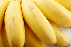 Fresh banana close-up Stock Photos
