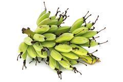 Fresh Bananas On Bunch Royalty Free Stock Photos