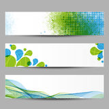 Fresh banners Royalty Free Stock Photo