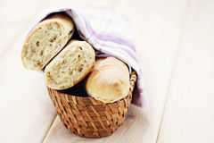 Fresh baquette Stock Photography