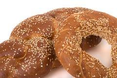 Fresh batch. Bread and rolls Stock Image