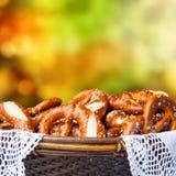 Fresh Bavarian Brezen Royalty Free Stock Photo