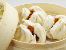 Fresh BBQ Pork Buns Stock Images