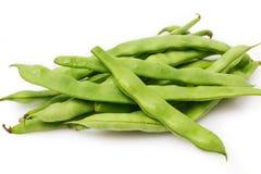 Fresh bean pods Stock Photo