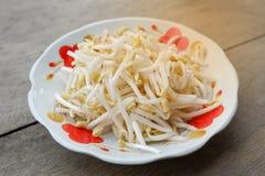 Fresh Bean sprout Stock Photo