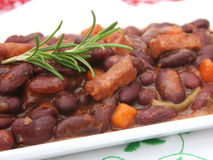 Fresh bean stew Royalty Free Stock Photos