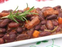Fresh bean stew Royalty Free Stock Photos