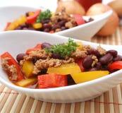 Fresh bean stew Stock Image