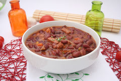 Fresh bean stew Royalty Free Stock Images