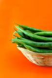 Fresh beans Stock Photography