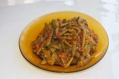 Fresh beans turkish cuisine. Background unit isolate stock photos