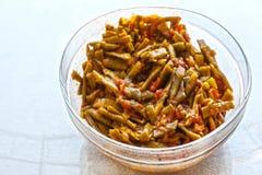 Fresh beans turkish cuisine. Background unit isolate royalty free stock photo