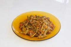 Fresh beans turkish cuisine. Background unit isolate stock photo