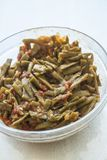 Fresh beans turkish cuisine. Background unit isolate stock photography