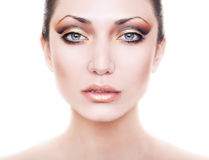 Fresh beautiful lady with clean skin Stock Photography