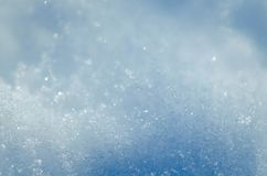 Fresh beautiful winter wonderland white snow texture royalty free stock images
