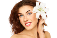 Fresh beauty Stock Images