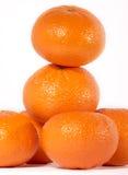 Fresh beauty. Fresh oranges royalty free stock image