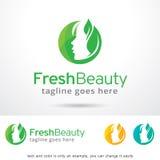 Fresh Beauty Logo Template Design Vector, Emblem, Design Concept, Creative Symbol, Icon Stock Photography