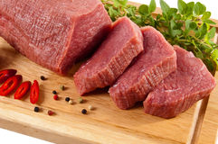 Fresh beef Royalty Free Stock Image
