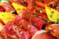 The Fresh Beef Stock Image
