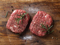 Fresh beef burger Stock Photography