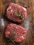 Fresh beef burger Stock Photos