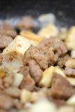 Fresh beef piece closeup Stock Photography