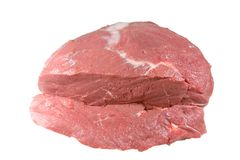 Fresh Beef Ready to be Cooked Stock Image