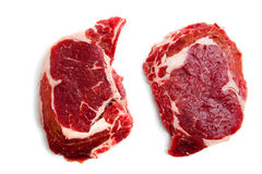 Fresh Beef Ribeye Steak Royalty Free Stock Images