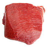 Fresh beef slab isolated Stock Images