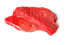 Fresh beef steaks Stock Photography