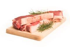 Fresh beef steaks Royalty Free Stock Photo