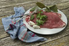 Fresh beef steaks Stock Image