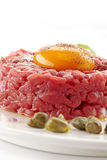 Fresh beef tartare Stock Photography