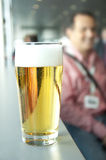 Fresh beer Stock Photography