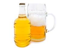 Fresh beer Stock Photo