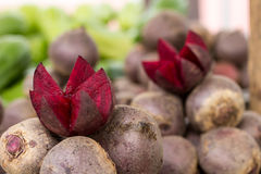 Fresh beet cut for sale Stock Photos